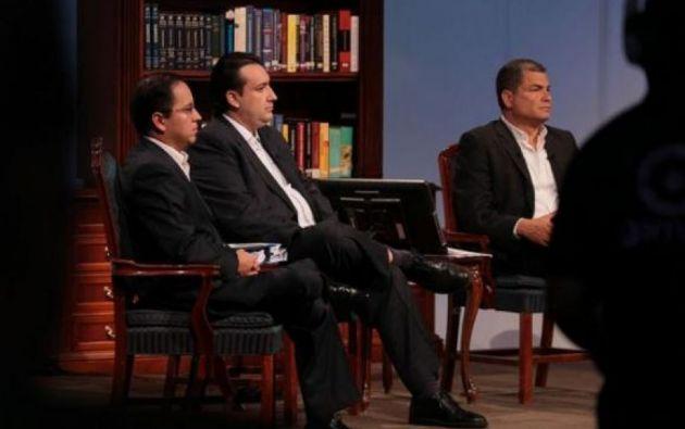 En el 2012, Patricio Rivera emitió un acuerdo ministerial que dio paso al pago del 40 % de las pensiones jubilares con bonos. Foto: archivo