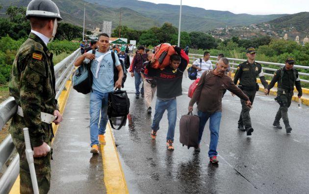 Santos anunció las medidas ante la ola migratoria que ha desatado la severa crisis económica en Venezuela. Foto: bolivarcucuta