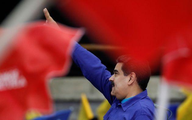 Maduro aspira a ser reelegido en los comicios del próximo 22 de abril. Foto: Reuters