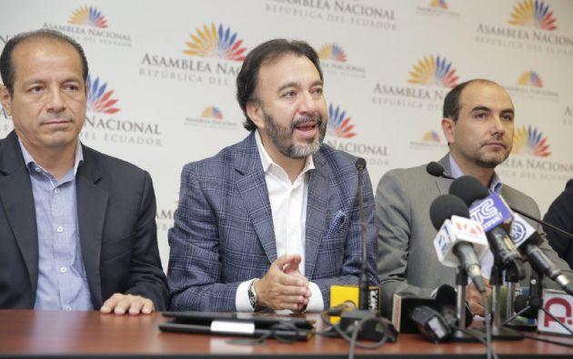 """""""Impulsaremos el programa de gobierno que ganó en la urnas el 2017"""". Foto: @TvlEcuador"""