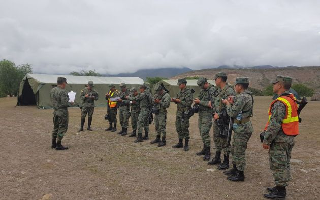 """El Comando señala que la patrulla repelió """"la agresión de varios elementos no identificados"""". Foto: referencial FF.AA."""