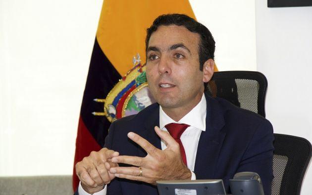 """""""Para nuevas inversiones estamos proponiendo la eliminación del 5 % en la salida de divisas, pero (sólo) para nuevas inversiones"""", señaló el ministro. Foto: Comercio Exterior"""