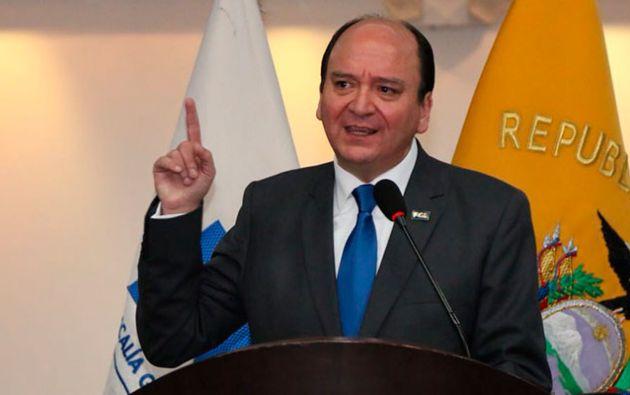 Para finalizar el Fiscal responsabilizó a José Serrano de cualquier ataque a su vida, la de su familia y sus colaboradores. Foto: Fiscalía