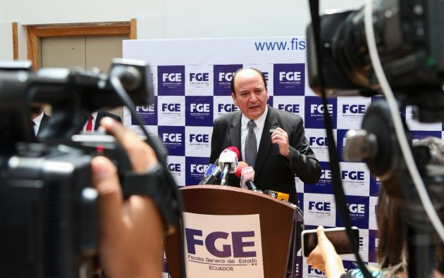 Sus declaraciones las dio en el marco de un evento sobre corrupción y delincuencia organizada. Foto: Fiscalía