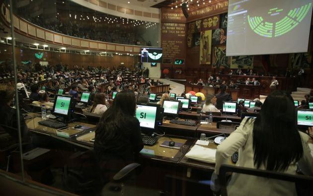 El órgano transitorio estará vigente hasta que se designe a uno definitivo, mediante voto popular, en las elecciones del 2019. Foto: Asamblea