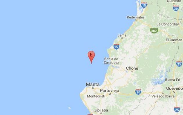 Según el Inocar, entidad encargada de vigilar las condiciones oceanográficas, se decarta una alerta de tsunami.