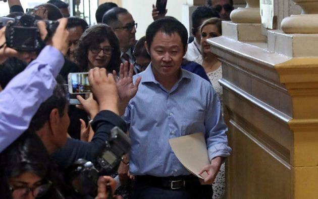 """""""Con mucha tristeza, tengo el deber de renunciar al Partido Fuerza Popular"""", escribió Kenji Fujimori en su cuenta de Twitter. Foto: Reuters"""