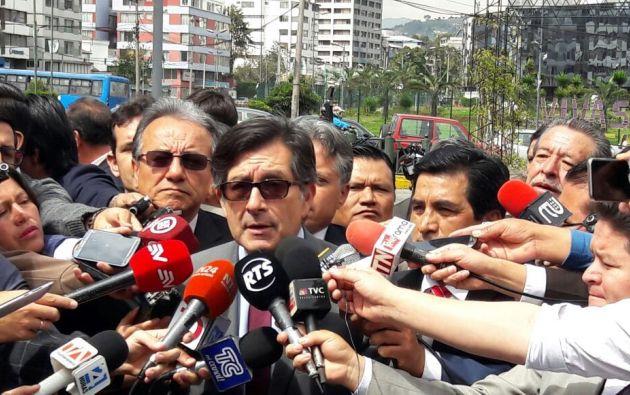 Según Montúfar, Correa es el principal responsable de los hechos de corrupción durante sus diez años de gobierno. Foto: Twitter