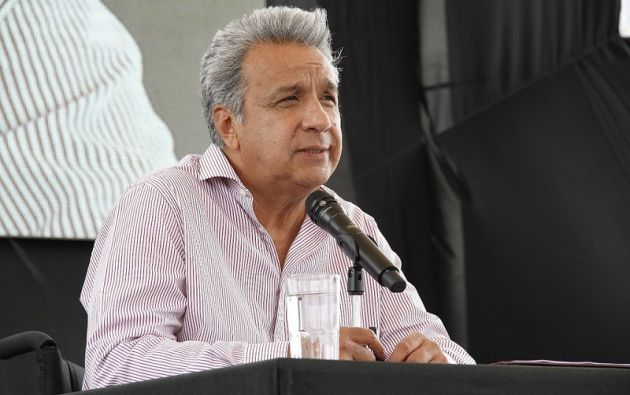 GUAYAQUIL, Ecuador.- El presidente señaló que 6 de cada 10 mujeres han sido víctimas de violencia de género. Foto: presidencia