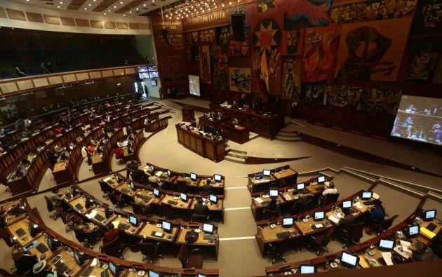 En el caso que José Serrano renuncie a la presidencia de la Asamblea, la actual vicepresidenta, Viviana Bonilla, asumiría el mandato en el legislativo. Foto: archivo