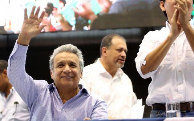 El Jefe de Estado también realizará un recorrido por las instalaciones de la embajada ecuatoriana en Chile. Foto: Presidencia