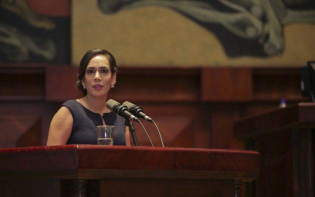 """""""No seré parte de ningún partido conformado o en proceso de formación"""", resaltó Bonilla. Foto: Asamblea"""