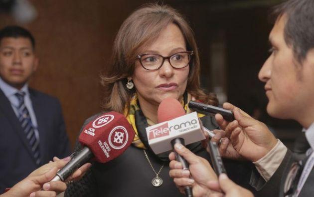 En caso de que sea electa como presidenta del Legislativo, deberá completar el período hasta el 13 de mayo de 2019. Foto: archivo