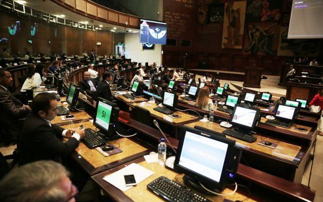 """Ley de Plusvalía """"ha frenado al sector de la construcción"""", dice el informe de la Comisión. Foto: Asamblea"""
