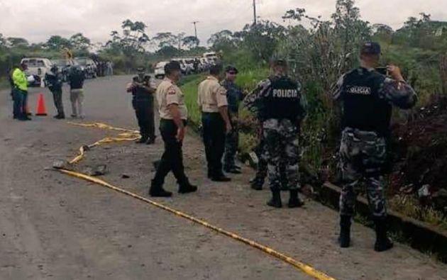 Luego de los ataques, se efectuaron barridos para detectar posibles explosivos.