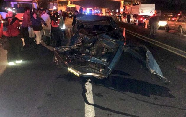 Según un comunicado emitido por el ECU-911 existen 2 fallecidos y varios heridos. Foto: CBQ