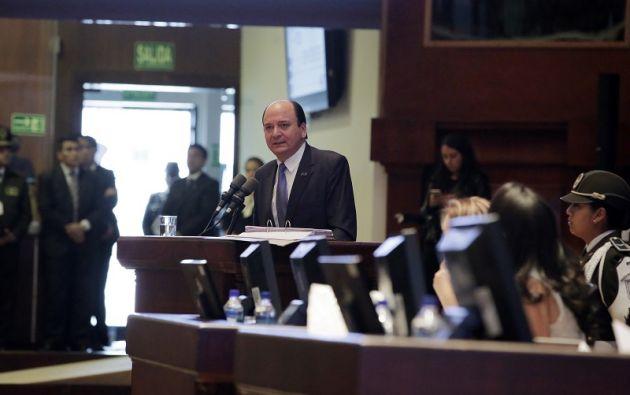 La comisión de Fiscalización deberá notificar a Baca, quien tendrá 15 días para presentar sus pruebas de cargo y descargo. Foto: Asamblea