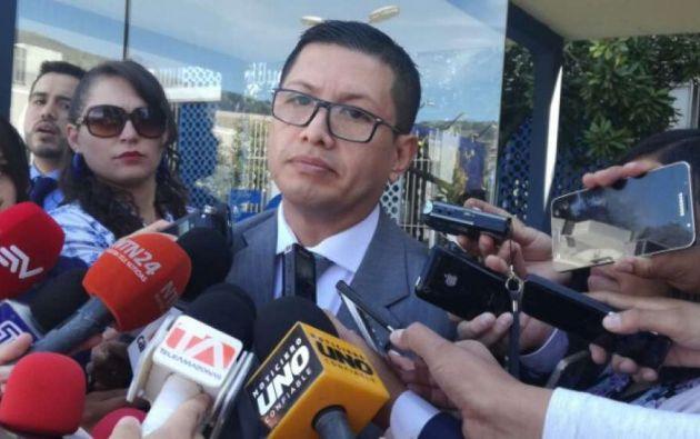 """""""No perseguimos personas, sino delitos y hechos"""", recalcó el Fiscal. Foto: El Ciudadano"""