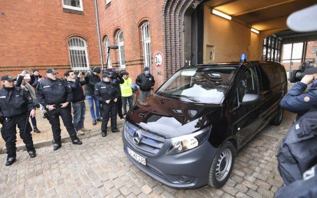 Puigdemont se encuentra en una cárcel de la localidad de Neumünster. Foto: AFP