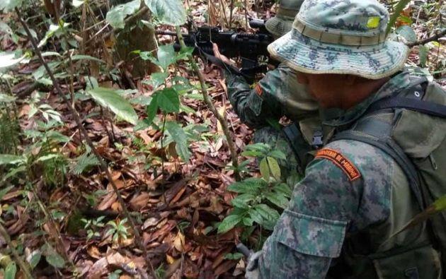 Un nuevo plan de seguridad se aplica desde 26 de marzo de 2018 en San Lorenzo, provincia de Esmeraldas. Foto: Armada de Ecuador