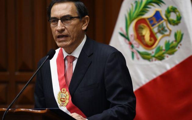 """""""He recibido llamadas de diversos mandatarios, ratificando su compromiso con esta cita. Creemos que va a ser un éxito"""", dijo Vizcarra. Foto: AFP"""