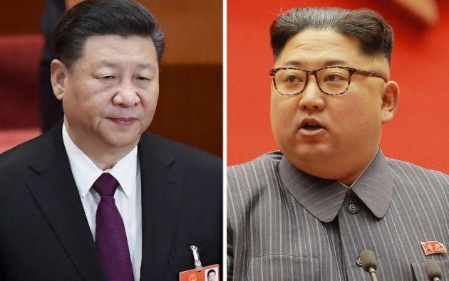 Las relaciones entre Pekín y Pyongyang, aliados históricos, se han visto muy deterioradas recientemente por las insistentes pruebas de misiles y nucleares. Foto: AFP