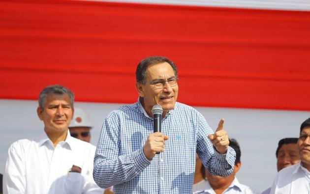 El mandatario prometió que renovaría totalmente el gabinete. Foto: Reuters