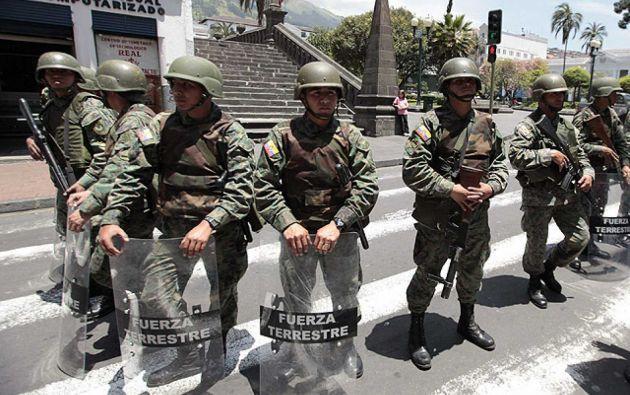 El Consejo debatirá sobre la posibilidad de extender el estado de excepción declarado en los cantones San Lorenzo y Eloy Alfaro. Foto: archivo