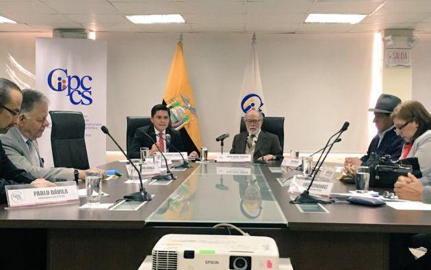 El tiempo de evaluación de las autoridades designadas por el anterior CPCCS se reducirá a la mitad. Foto: CPCCS