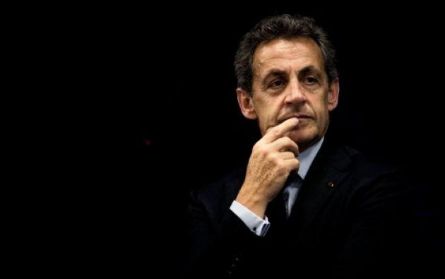 Sarkozy es sospechoso de haber aceptado pagos ilegales de la heredera de L'Oreal, Liliane Bettencourt, para financiar su campaña electoral de 2007. Foto: AFP