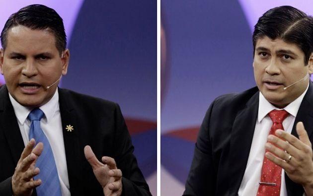 Dos candidatos jóvenes y periodistas, que también comparten apellido aunque no son familia. Foto: Reuters