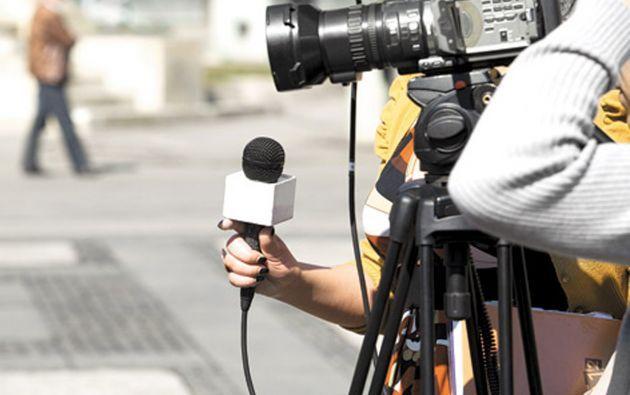 """""""Cuando un periodista se convierte en noticia, no es un buen síntoma para la democracia"""", subraya Valentín Díaz, del diario El Comercio. Foto: archivo"""