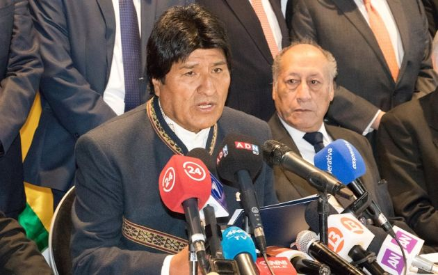 """El objetivo, añadió Morales, es dar """"con los autores si ha habido esta extorsión, soborno, en la adjudicación de construcciones de obras"""". Foto: Reuters"""