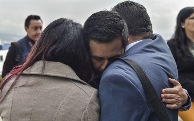 Los dos periodistas y el conductor del diario El Comercio están secuestrados desde el 26 de marzo. Foto: AFP