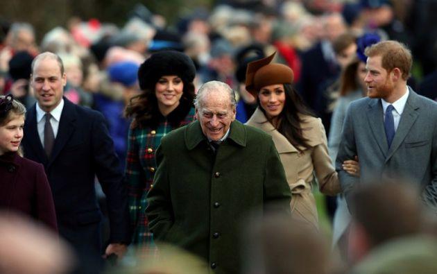 El esposo de Isabel II se retiró de la vida pública el pasado verano. Foto: Reuters