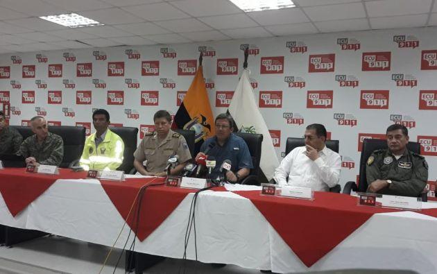 """Sobre el caso del equipo periodístico, Navas dijo que """"se ha establecido un dialogo con los secuestradores"""". Foto: Min. Interior"""
