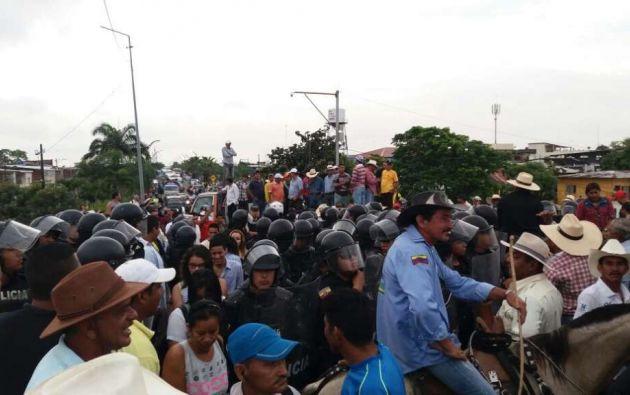 Desde marzo, los arroceros realizan protestas por la crisis que -aseguran- se vive en el agro. Foto: Pública FM