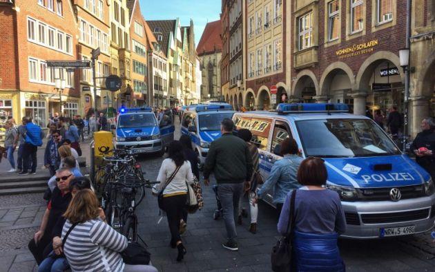 """Varios """"muertos y heridos"""" en Alemania en atropello masivo. Foto: AFP"""