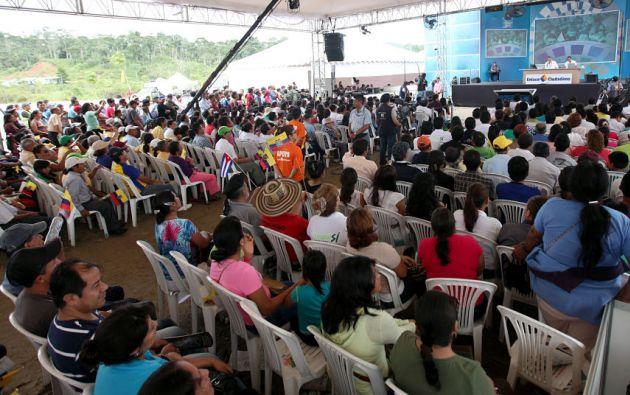 Se trata del borrador del examen especial de Contraloría al canal incautado Gamavisión. Foto: Archivo Presidencia