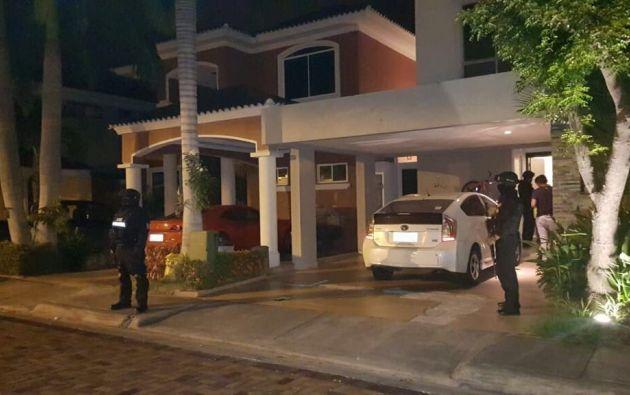 El exministro Iván Espinel fue detenido la madrugada de este sábado 7 de abril, por un proceso de lavado de activos. Foto: Fiscalía Ecuador
