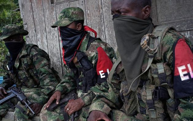 Capturan a 10 rebeldes del ELN dedicados a lavado de activos. Foto: Referencial - REUTERS/Federico Rios
