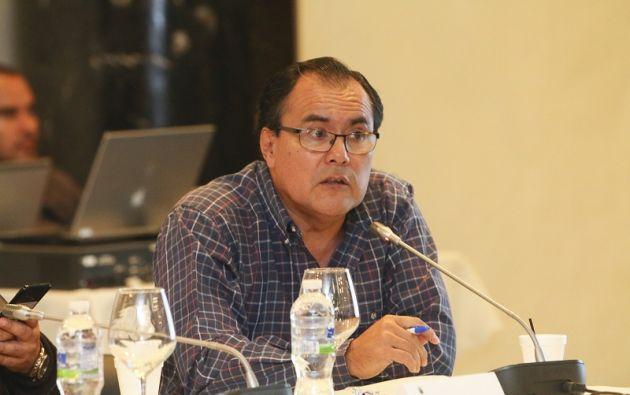 """""""Las dignidades de la Asamblea deben responder a las necesidades institucionales y a las del país"""", señaló Tello tras el anuncio. Foto: Asamblea"""