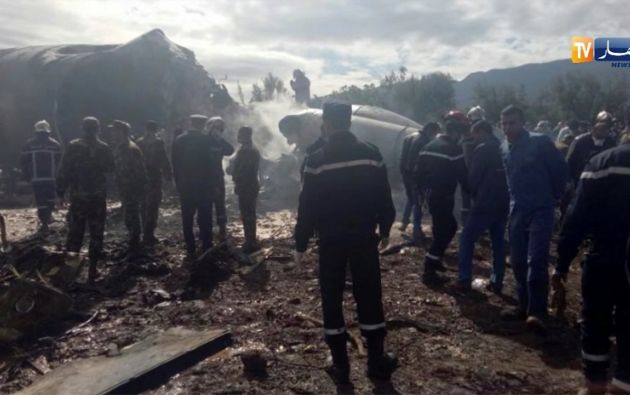 247 de las víctimas mortales son pasajeros del vuelo, en su mayoría soldados y oficiales del Ejército argelino. Foto: Reuters