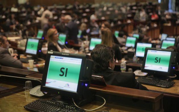 El Pleno de la Asamblea Nacional ratificó la capacidad de los asambleístas para solicitar de manera directa la información documentaria. Foto: Asamblea