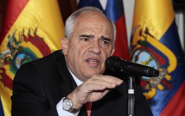 Ernesto Samper Pizano. Expresidente de Colombia, fue secretario general de Unasur entre agosto de 2014 y enero de 2017. Foto: archivo
