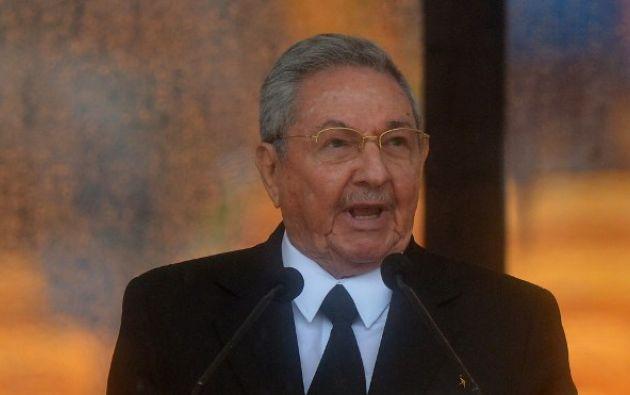 Raúl, de 86 años, cederá su asiento a un representante de la nueva generación. Foto: AFP