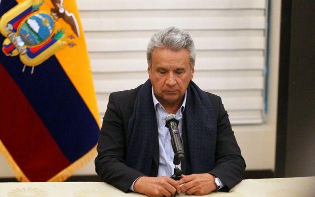 """""""Lamentablemente tenemos información que confirma el asesinato de nuestros compatriotas"""", expresó el Presidente. Foto: Reuters"""
