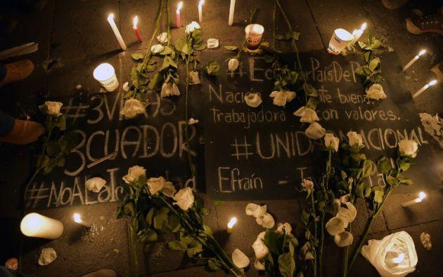 Ecuador afronta una inusitada oleada de violencia y ataques a la fuerza pública en el área de Mataje desde enero pasado. Foto: AFP
