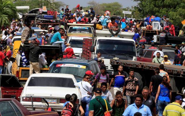 Se estima que un 5% de la población venezolana ha abandonado su país en los últimos dos años. Foto: Reuters