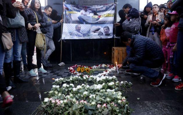 Santos había sostenido que tanto el secuestro como la ejecución habían tenido lugar en Ecuador. Foto: AFP